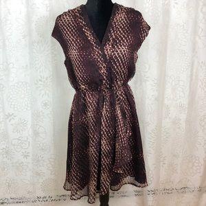 Converse one star maroon dress size M